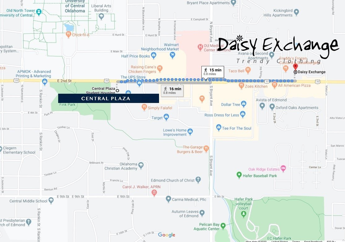 Daisy exchange map