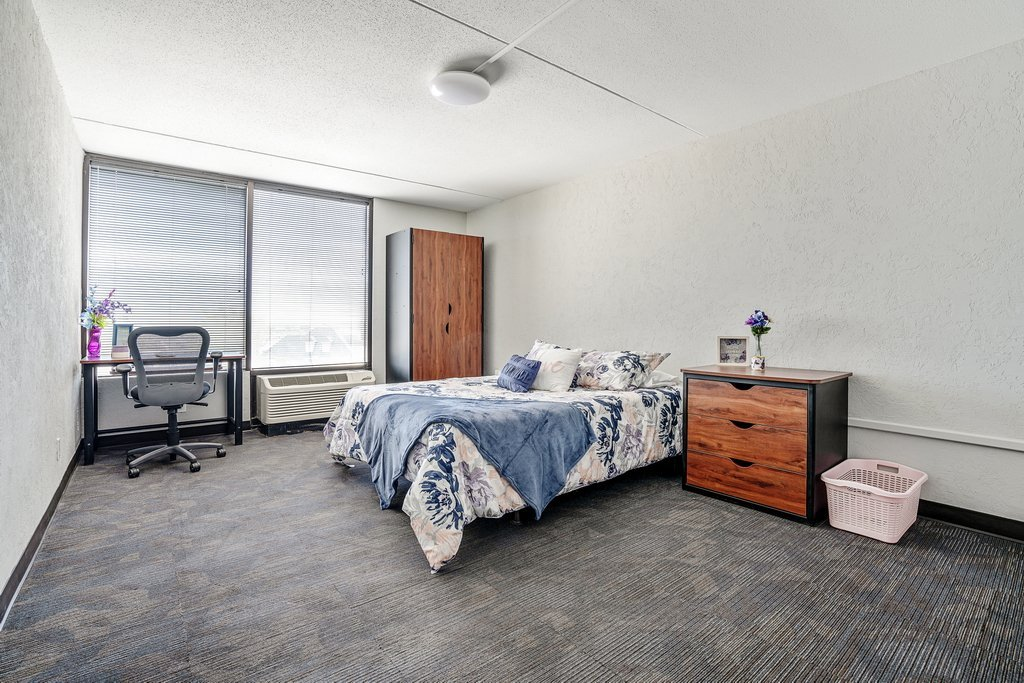Central Plaza Student Housing Private Room Single Bed
