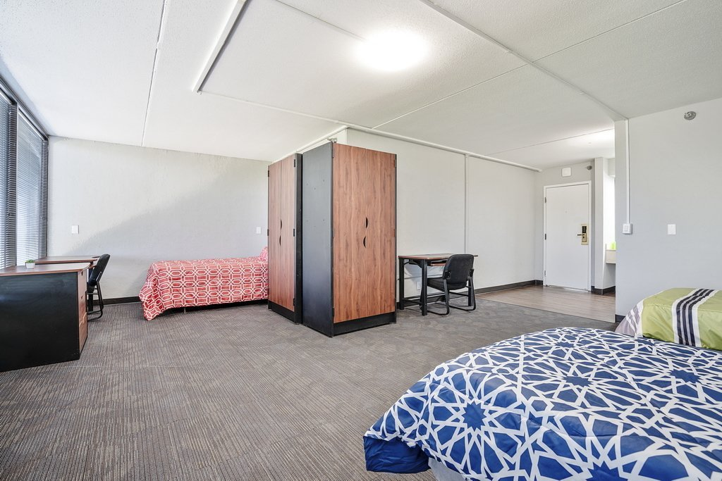 Central Plaza Student housing shared suite room
