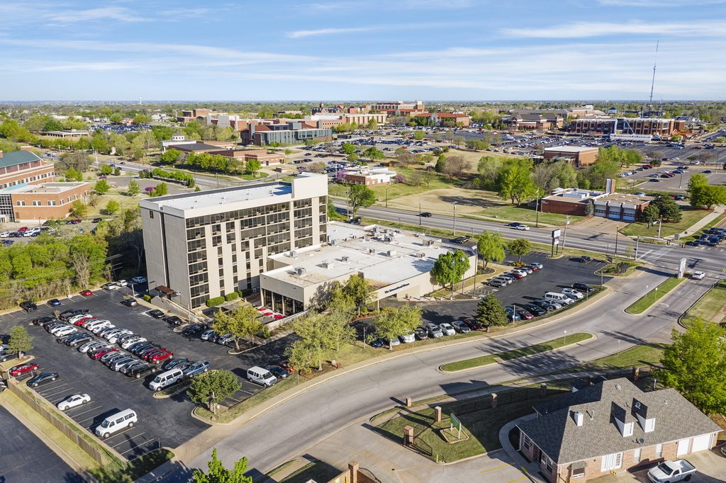 Central Plaza Student Housing center aerial view